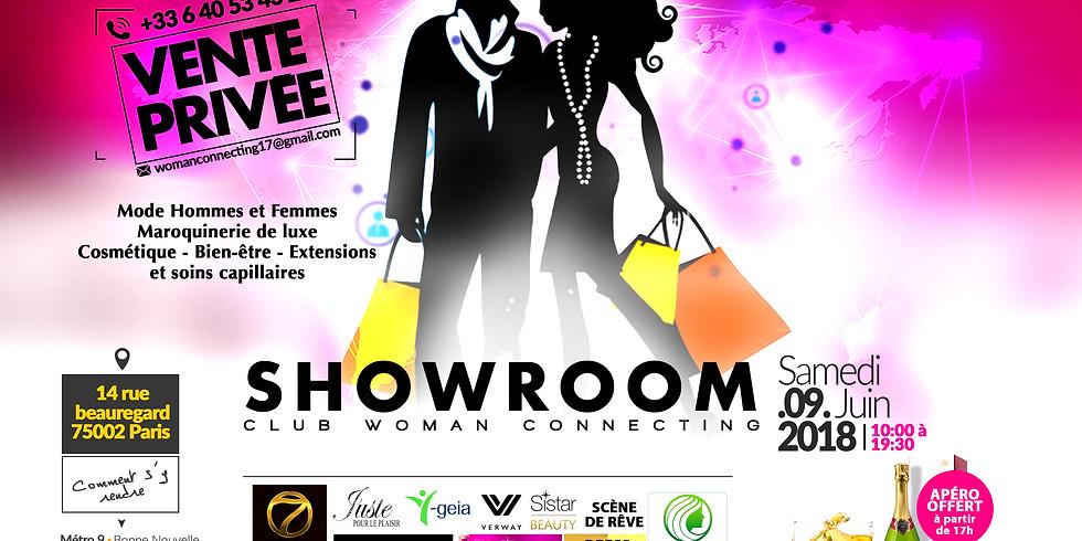 Le Showroom du Club Woman Connecting