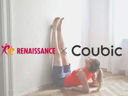 オンライン集客システム「Coubic(クービック)」、株式会社ルネサンスが提供するオンラインレッスンの予約・決済受付に採用決定