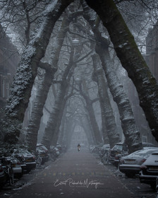Amsterdam snow 2021