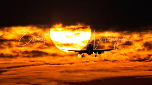 Sun crossing