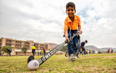 In 2015, the One Million Hockey Legs Social Projects (1MHL) Foundation was established. This foundation, inspired and founded by Floris Jan Bovelander.