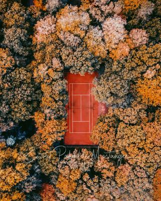 Autumn Tennis Court, Bloemendaal, The Netherlands