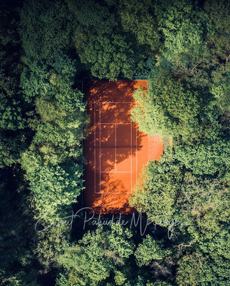 Summer Tennis court, Bloemendaal, The Netherlands