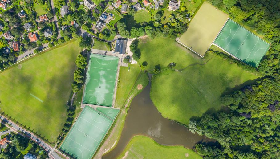 Aerial view Hockeyclub Bloemendaal-211.j