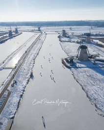 Dutch Winter - Kinderdijk 2021