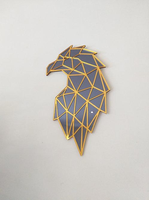 Arend polygon gespiegeld