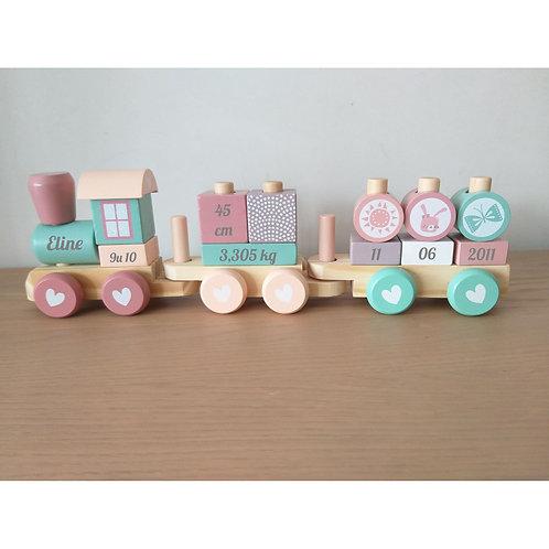 Geboorte treintje Little Dutch