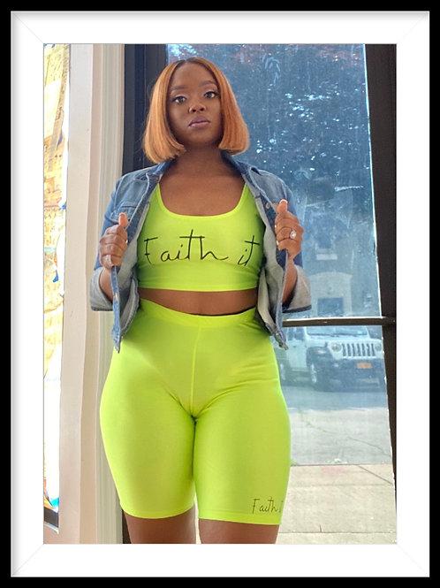 High waist Work out set