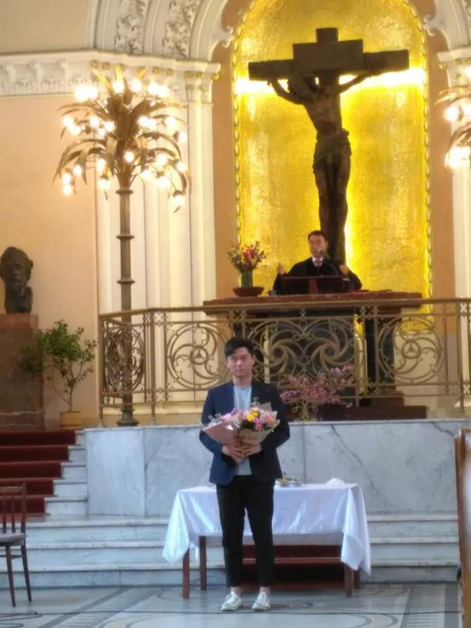2017년 4월 16일 세례식