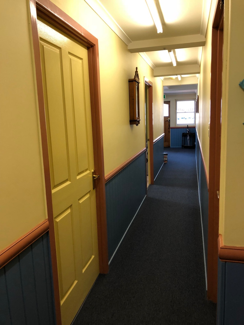 BEFORE - Hallway - Looking to reception