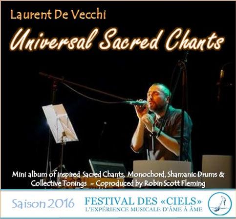 CD Laurent De Vecchi - Universal Sacred