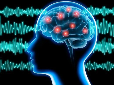 Les ondes du cerveau humain