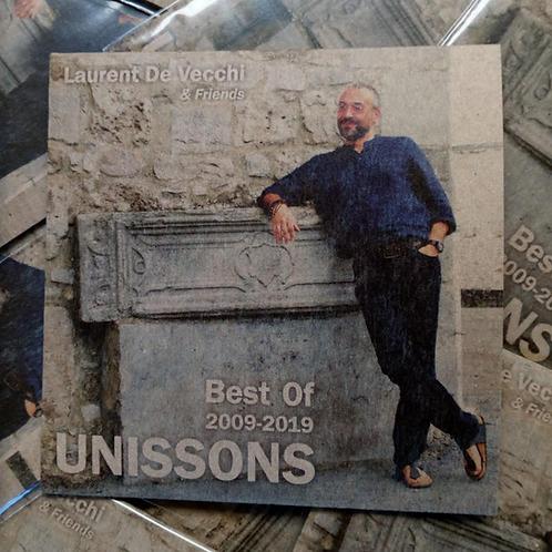 """CD """"10 Years Best Of"""" de Laurent De Vecchi & Friends (2009-2019)"""