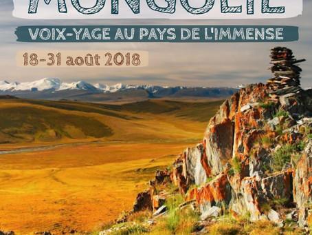 Photos souvenirs du voyage en Mongolie (août 2018)