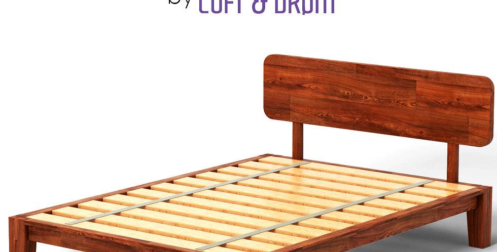 Base de cama con cabecera WUUD