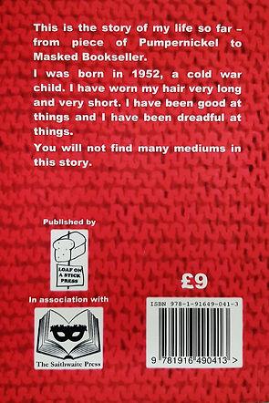 FaceBlind back cover