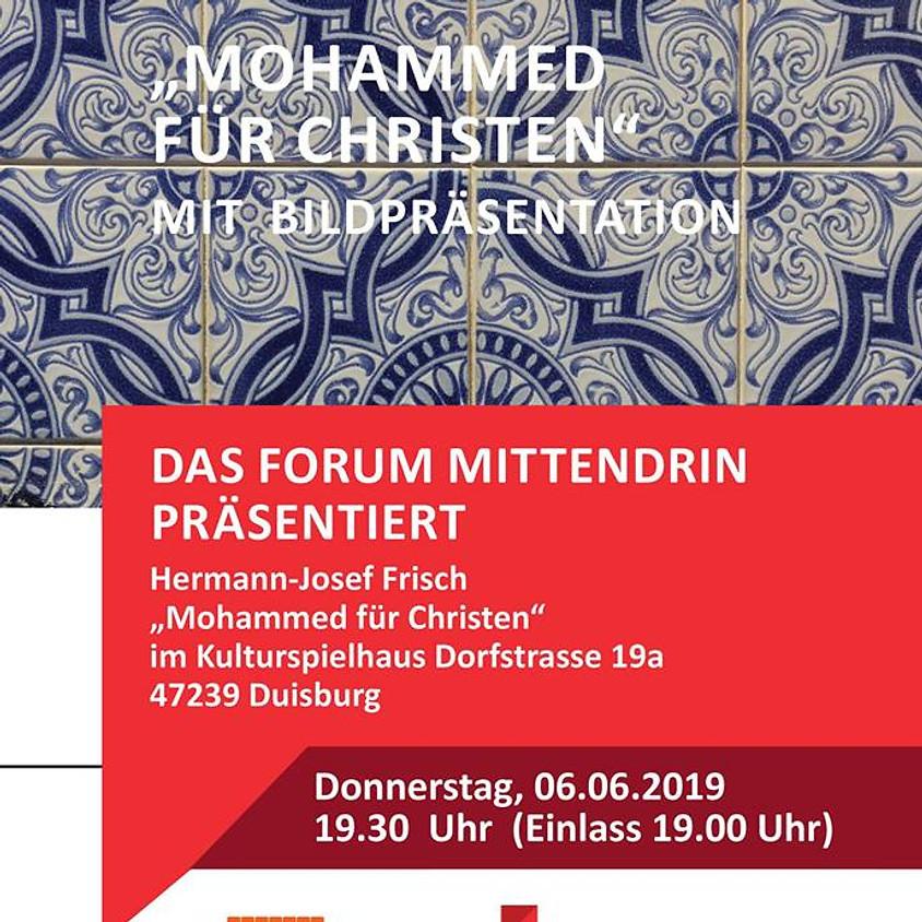 "Hermann Josef Frisch liest ""Mohammed für Christen"""