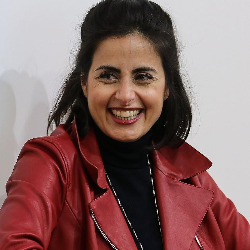 """Sineb El Masrar liest aus ihrem Buch """"Muslim Men"""" (Herder)"""