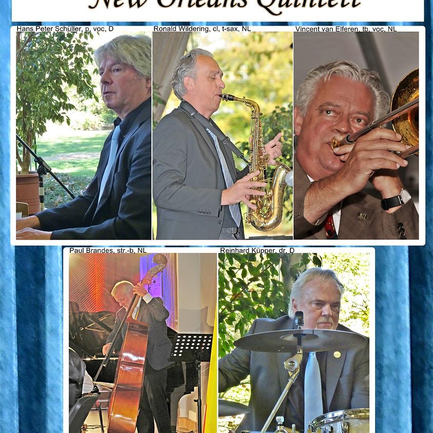 """Jazzcafé mit """"Reinhard Küpper & Friends New Orleans Quintett"""""""