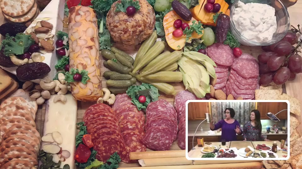 Holiday Charcuterie Board and Kitchen Organization!