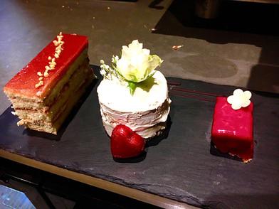 Valentine's Dinner Dessert