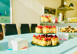 Dessert Buffet reception inauguration of newly build house
