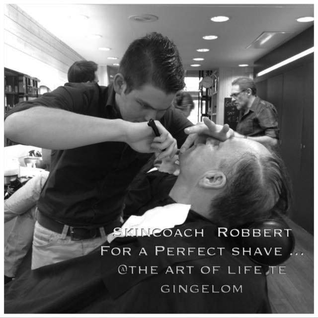 de klassieke gentlemen shave - een echte scheerbeurt voor mannen