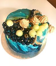 bespoke birthday celebration cake