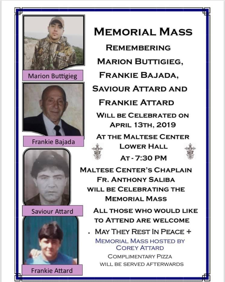Memorial Remembrance Mass 4.13.2019