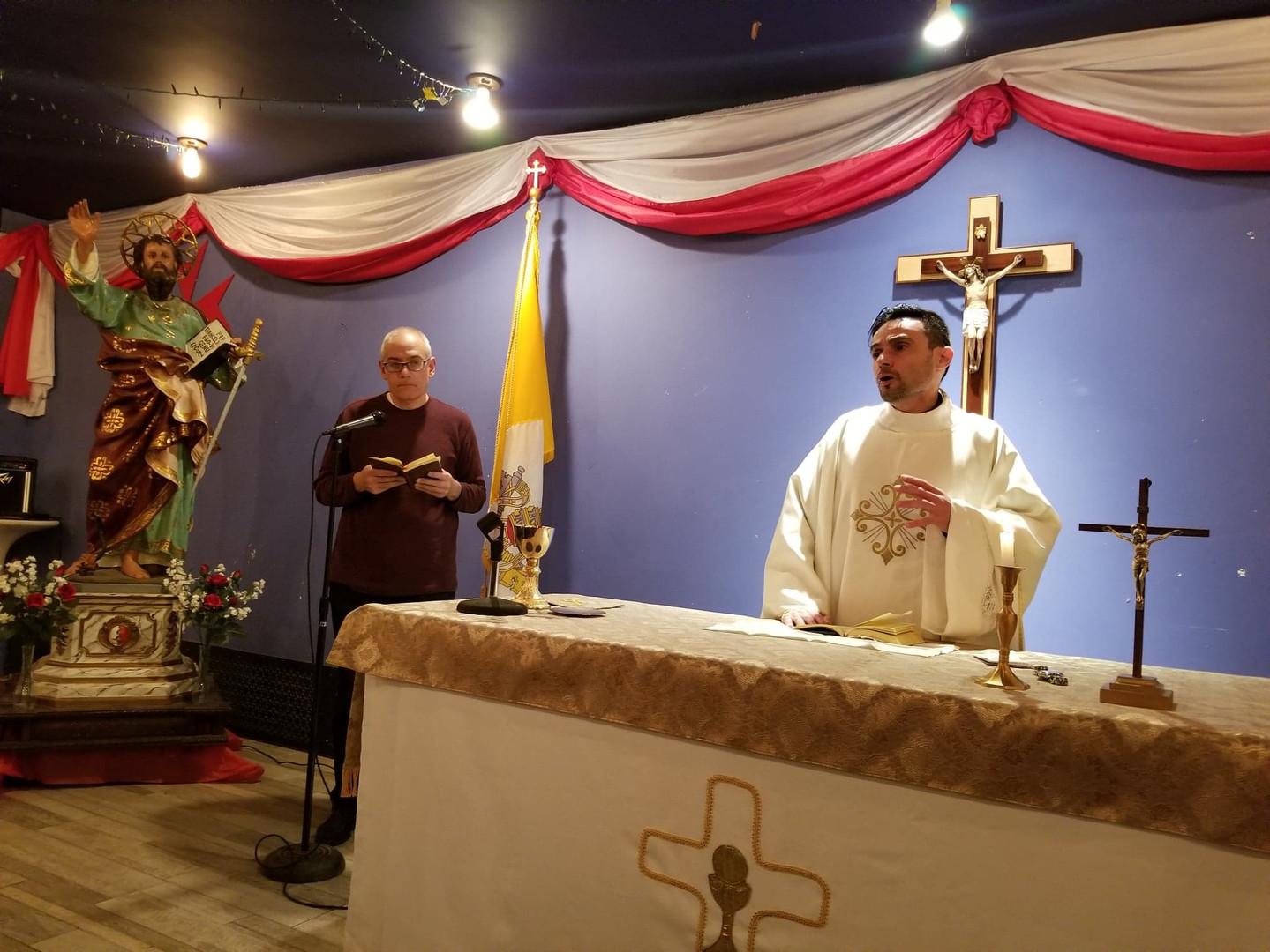 2020 Feb St. Paul's Mass