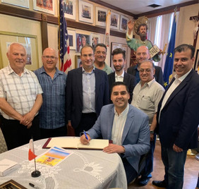 Meet and Greet with Hon. Minister Dr.Ian Borg, Minister for Transport, Infrastructure and Capital Projects 6.16.2019