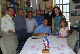2015 an official visit