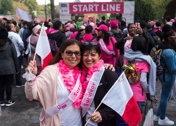 Is- Sahha Taghna 2nd Annual Making Strides Against Breast Cancer Walk Central Park 2019 Photo credit: Nicky Conti