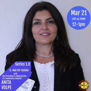 Member Dr. Anita Volpe on Il-Maltin Taghna March 21st 2021