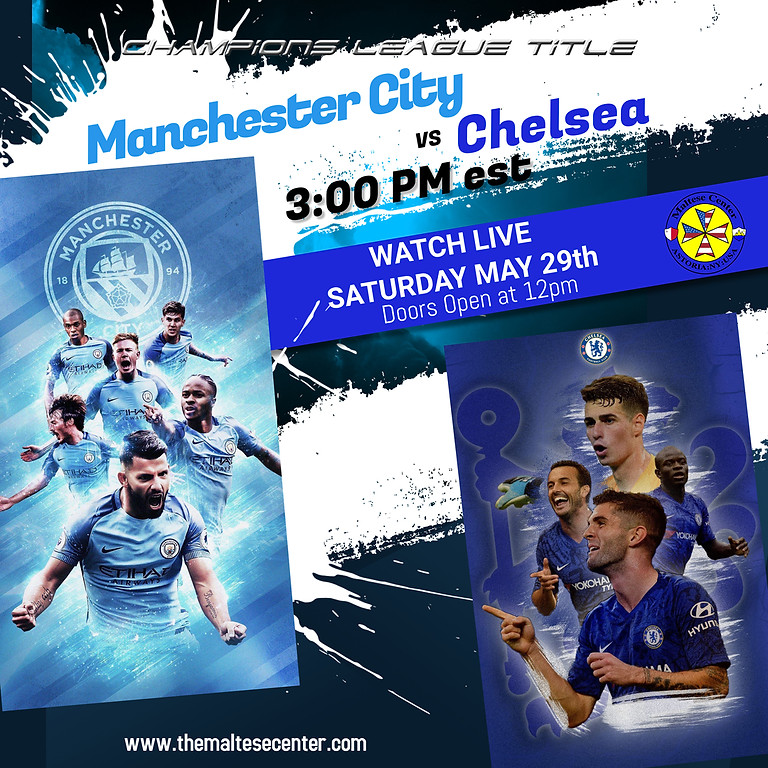 GAME DAY - MANCHESTER CITY vs CHELSEA