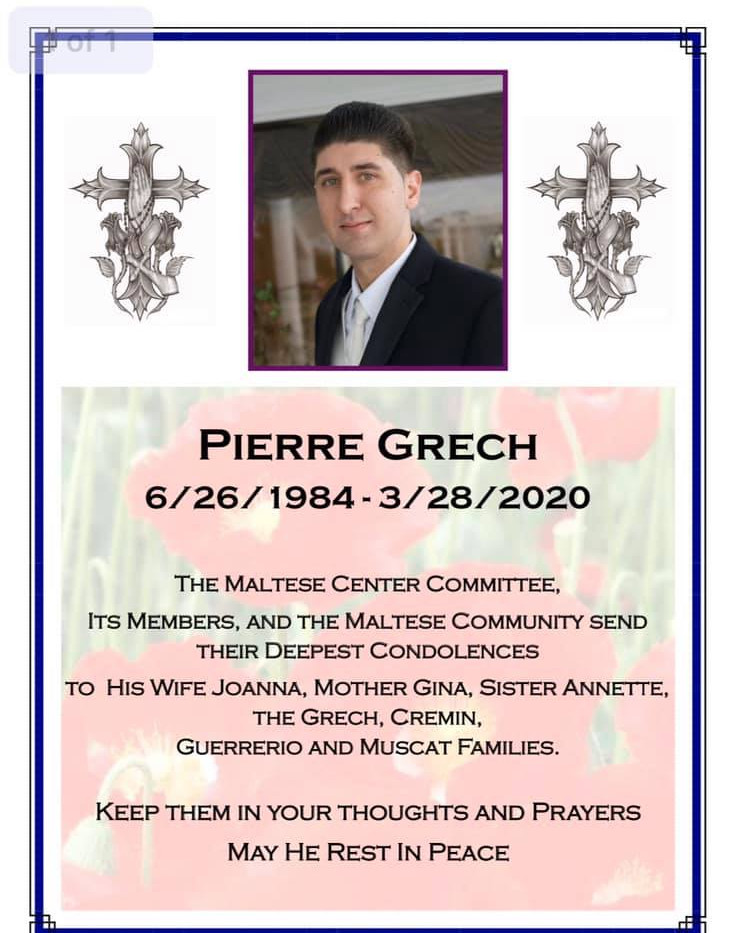 Pierre Grech 6/1984 - 3/2020