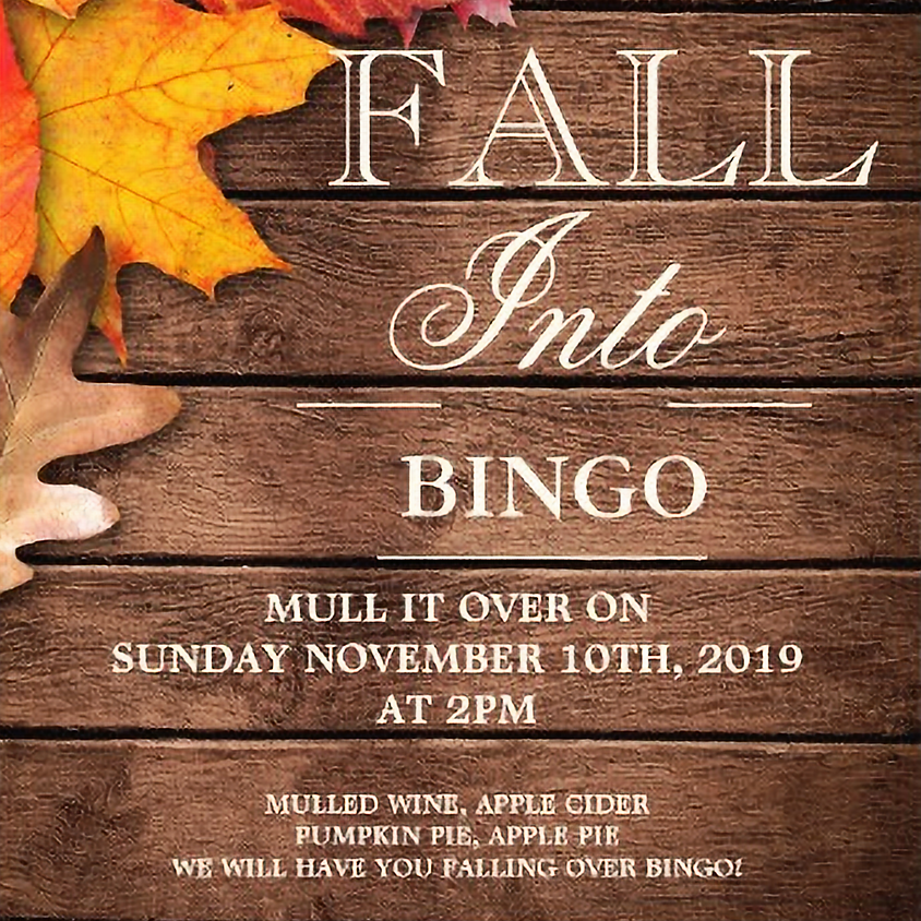 FALL INTO BINGO on NOVEMBER 10th