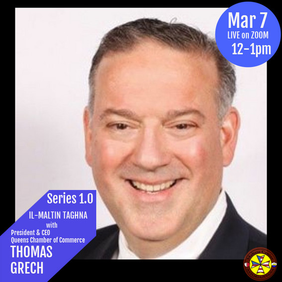 Guest Thomas Grech on Il-Maltin Taghna March 7th 2021