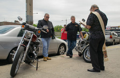 2017 Motorcycle Blessing Photo: Nicky Conti