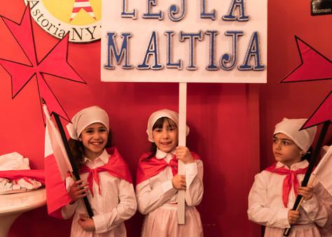 Our young ambassadors of Lejla Maltija Photo: Nicky Conti