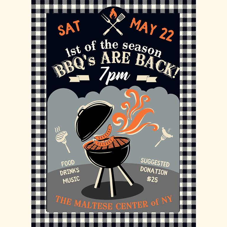 Pre Memorial Day Weekend BBQ