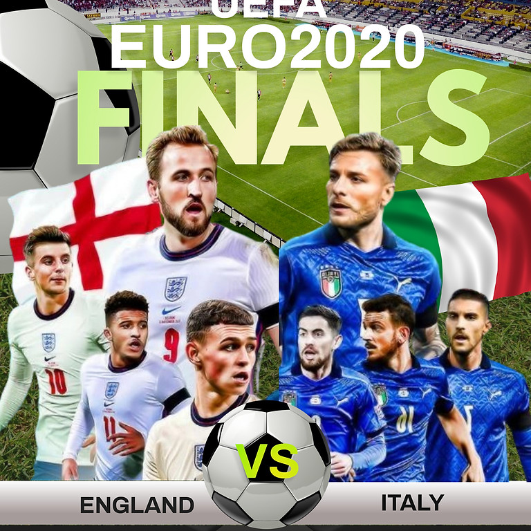 UEFA EURO 2020 FINAL England vs Italy