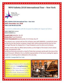 2018 The Malta Philaharmonic