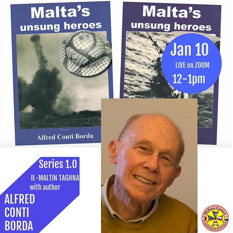 IL-MALTIN TAGĦNA with guest Alfred Conti Borda