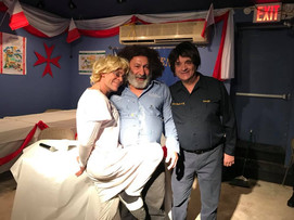 2018 Lejla Maltija Comedy- Lorenza,John, and George