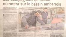 Innovons & Les Compagnons du Devoir dans l'Ain.