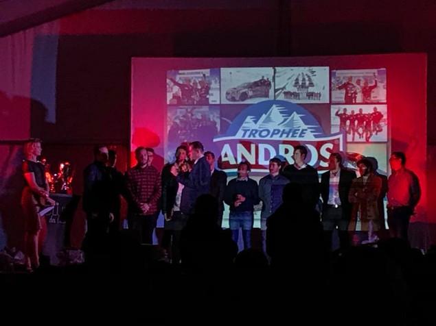 Lancement du Trophée Andros !