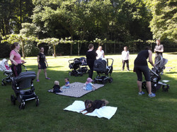 Buggy-Workout in Duisburg