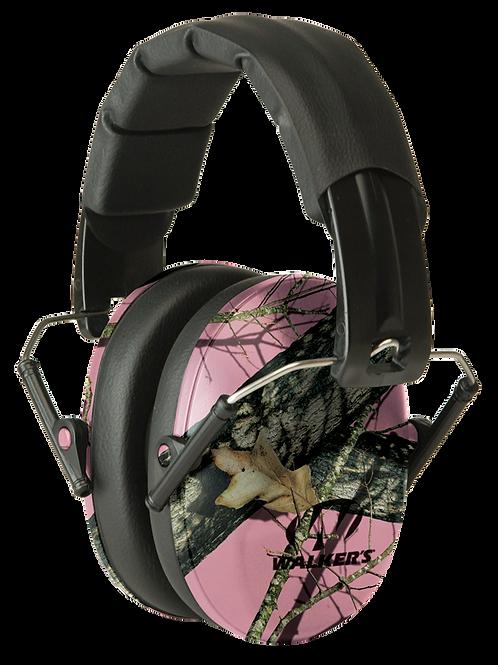 Walkers® Pro Low Profile Folding Muff Earmuff 22 dB