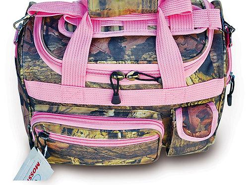 Mossy Oak w/ Pink Trim Small Duffle Bag